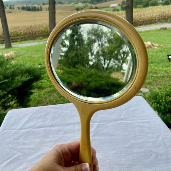 60s Oval Vanity Mirror